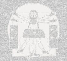 VITRUVIAN ALIEN DJ T-SHIRT One Piece - Long Sleeve