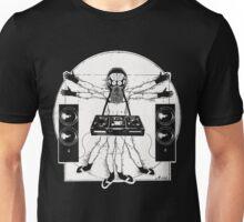 VITRUVIAN ALIEN DJ T-SHIRT Unisex T-Shirt