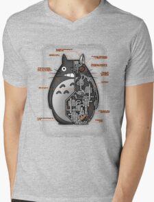Totobot Mens V-Neck T-Shirt