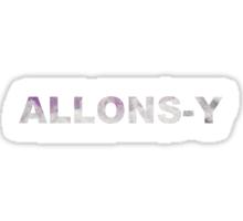 ALLONS-Y! Sticker