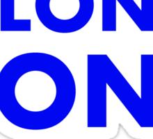 Come alond, Pond (With TARDIS)  Sticker