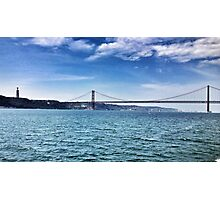 Lisbon Bridge Photographic Print