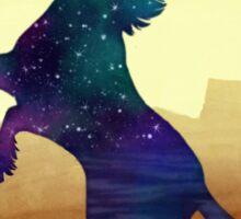 Starry Unicorn Sticker