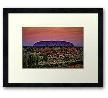 Desert Colour Framed Print