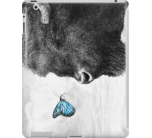 Bison and Butterfly iPad Case/Skin