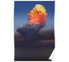 Fire Cloud - Hastings Westernport Bay Poster