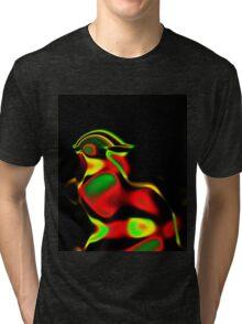 Pompous Chicken Tri-blend T-Shirt