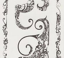 Ink blades by crisbolog