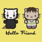 Hello Friend by MareveDesign