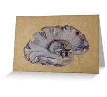Human Brain Left hemisphere Greeting Card