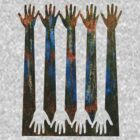Hand Forest 1 by Richard G Witham