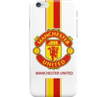 manchester united yellow red iPhone Case/Skin