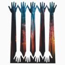 Hand Forest 3 by Richard G Witham