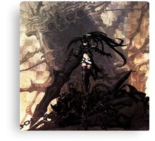 Black rock shooter Canvas Print