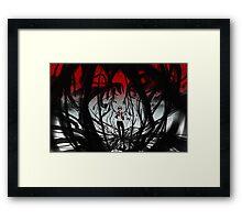 PokeMon- Red Framed Print