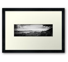 Elbsandstein Mountains - BW Framed Print
