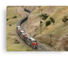 Model Railroading 2 Canvas Print
