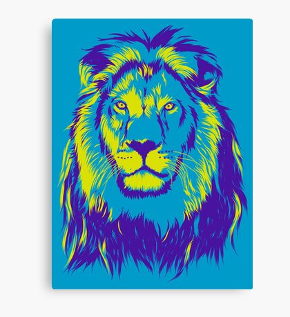 King Lion Canvas Print