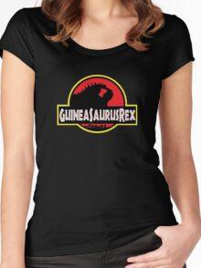 Guineasaurusrex Women's Fitted Scoop T-Shirt