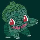 Bulbasaur by LucieDesigns