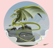 Dragon of Clouds Baby Tee