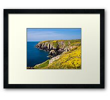 St Non's Bay Pembrokeshire Framed Print