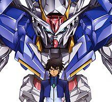 Gundam 00 by Esculor