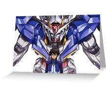 Gundam 00 Greeting Card