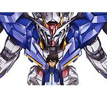 Gundam 00 Photographic Print