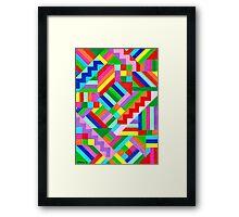COLOR WORLD Framed Print