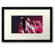 Bakemonogatari Framed Print