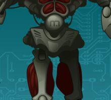 Cyborg Sticker