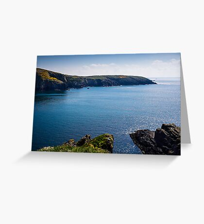 St Non's Bay Pembrokeshire Greeting Card