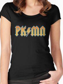 PKMN - Thunderstruck Women's Fitted Scoop T-Shirt