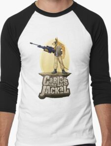 Carlos the Jackal Men's Baseball ¾ T-Shirt