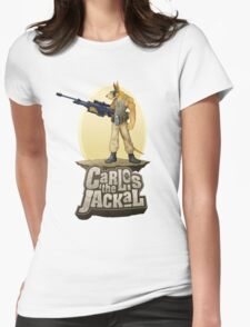 Carlos the Jackal Womens Fitted T-Shirt