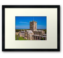 St Davids Cathedral Framed Print