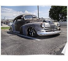 Chevy Fleetline Poster