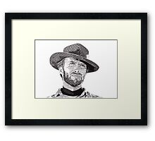 Clint Framed Print