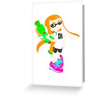 Splatoon Greeting Card