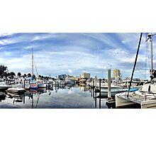 Bahia Mar Marina Photographic Print