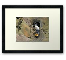 Model Railroading 3 Framed Print