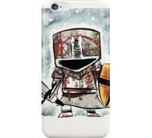 He only fights in the snow. iPhone Case/Skin