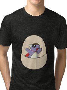 Super Baby Kangaskhan Tri-blend T-Shirt