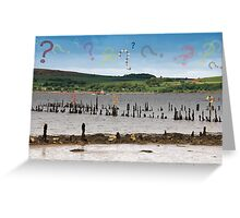 Where Are You George Wyllie? Greeting Card