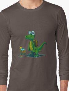 Croc PS1 Tshirt! Long Sleeve T-Shirt