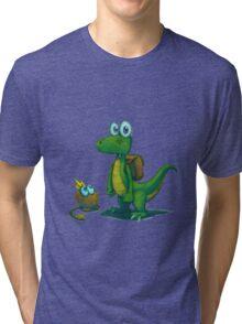 Croc PS1 Tshirt! Tri-blend T-Shirt