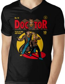 Doctor Comic Mens V-Neck T-Shirt