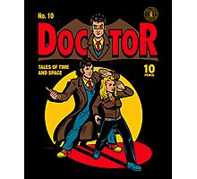 Doctor Comic Photographic Print