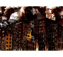 Abstract Cityscape Photographic Print